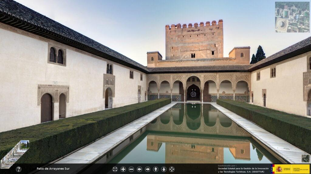 Patio de Arrayanes in the Alhambra