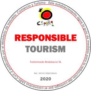 Responsible Tourism stamp